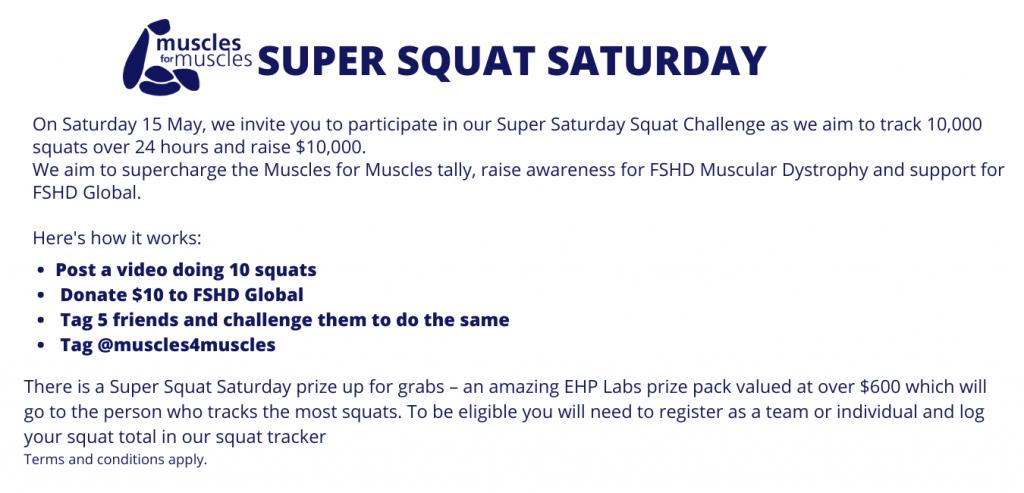 Super Squat Saturday